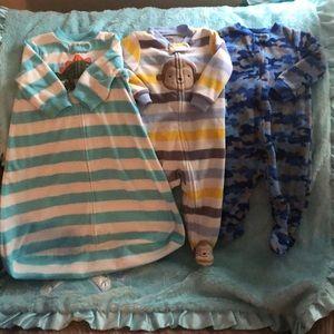 Carter's and Child of mine pajamas